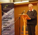 Michael Henderson speaking at Greencoat Forum
