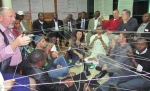 Training with Farmers' Dialogue facilitators in Rwanda